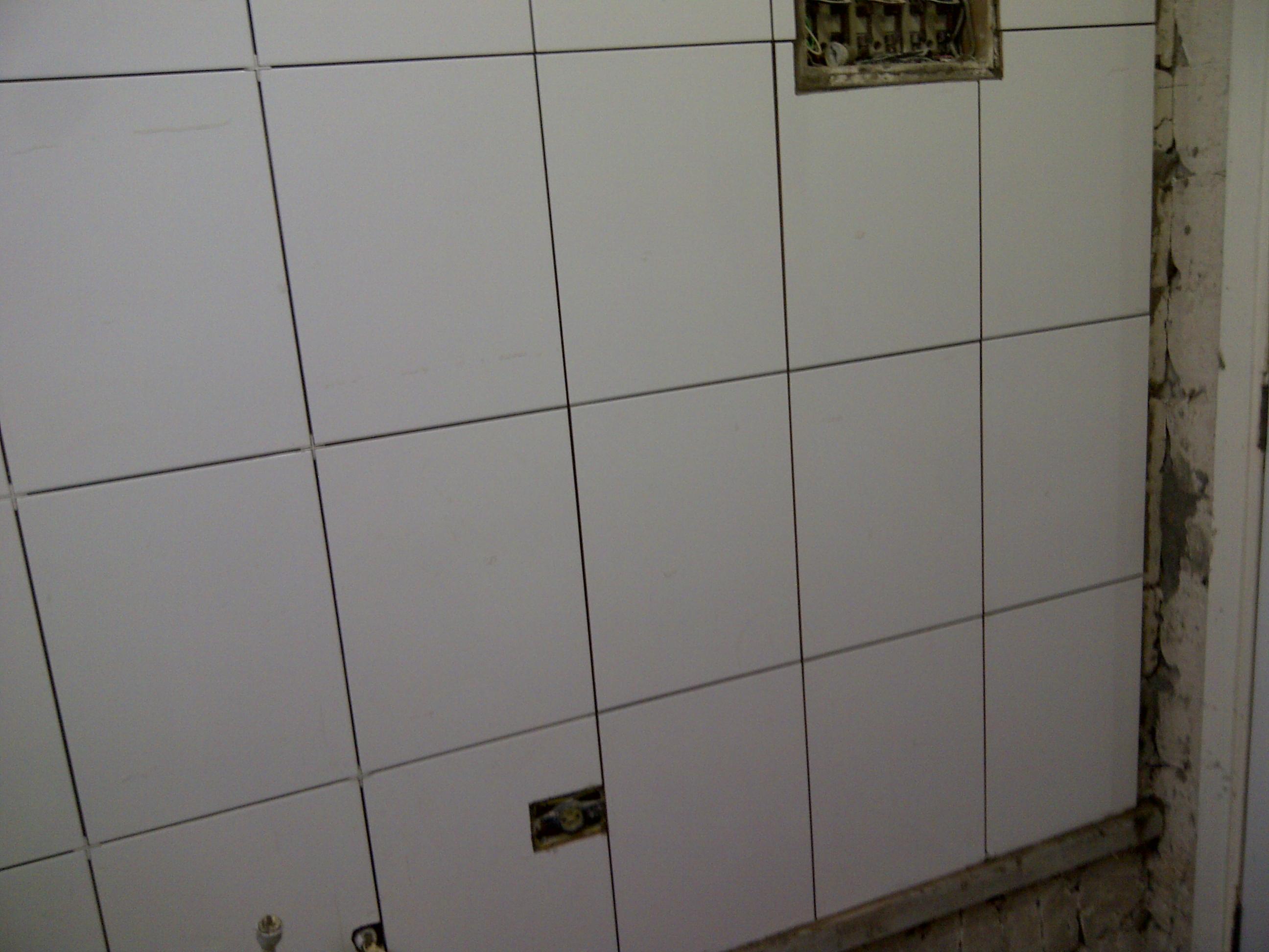 Depois] Banheiro – encanamento piso e revestimento vitro e  #373027 2592 1944